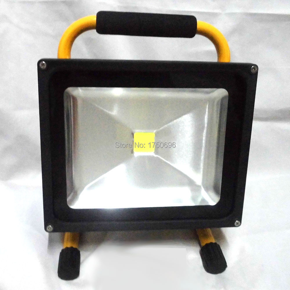 Super bright 50W rechargeable outdoor flood light