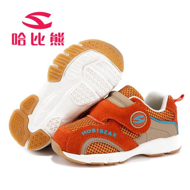 Hobibear новый детская обувь мягкая подошва детская свободного покроя мальчики детская ...
