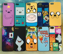 For iPhone 4 4s Case Adventure Time Lumpy Jake Beemo BMO Finn Hard Plastic Protective Case Cover
