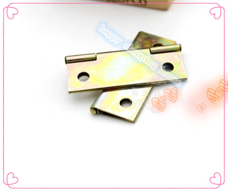 Furniture Hinge small hinges for jewelry box zinc galvanized hinge furniture hinge plating color 45MM*31MM*0.7MM(China (Mainland))