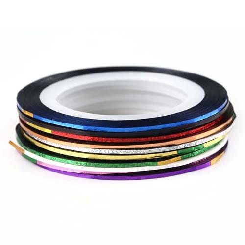 Nail Art Tape Strips: FREE SHIPPING 10 X Nail Art Lace Tape Strips Wedding