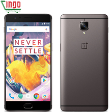 "New Original Oneplus 3T Snapdragon 821 6GB 64GB one plus 3 T Mobile Phone Quad Core 5.5"" Android 7.0 LTE 16MP NFC Fingerprint(China (Mainland))"