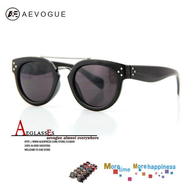 Aevogue винтажный sol солнечные очки женщины 3 металл гвоздь украшение солнца зеркало очки 20 шт. / lot AE0114