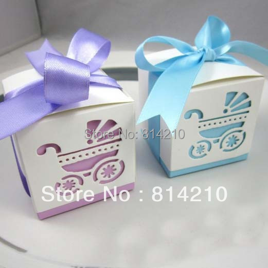 Green Baby Gifts Uk : Light green candy box baby shower favors gifts