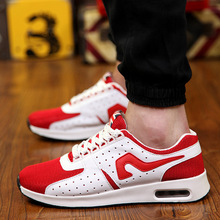Promotional Discounts New Lightweight Breathable Mesh Of Men Casual Shoes Adult Flat Shoes Men's Shoe 2015 Hot Sal(China (Mainland))