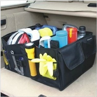 Car Boot Storage Bags Auto Folding Toolbox Organizer Box Supplies Locker Portable Car Trunk Carrying Reticule(China (Mainland))