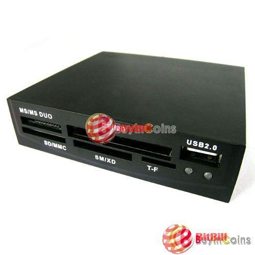 bitbill original barnd 3.5 All In 1 USB Flash Memory Internal SDHC MS XD SD best choice(China (Mainland))