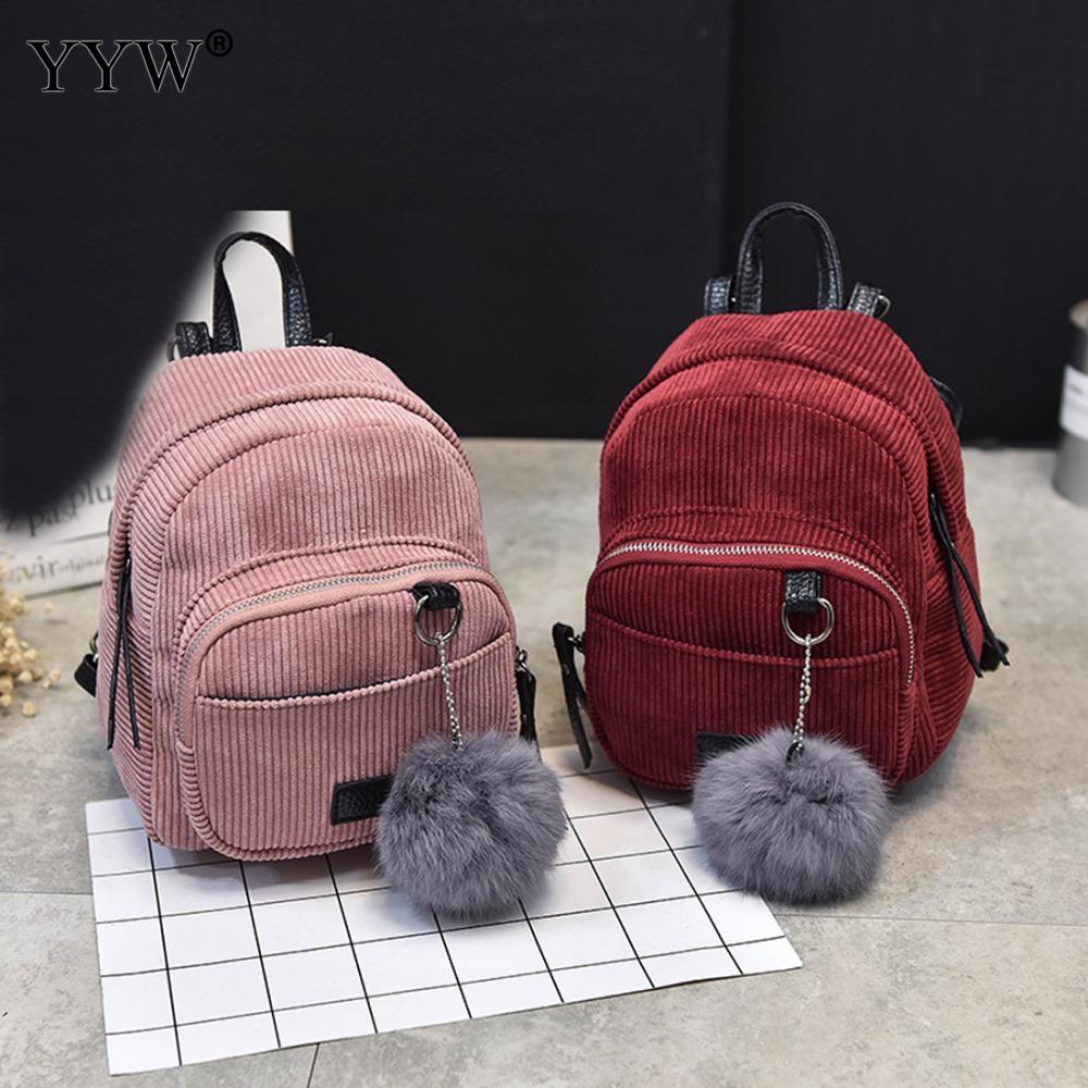 ... Bag With Plush Small Female Travel Backpack Mochila Feminina Mini  Backbags. Products Detail. NO 170928083555. Weight 500gram.  Size 190X150X210 mm 42b74b951d3cc