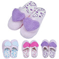 Wo weino Excellent Quality Retail Lovely Soft Lovers Home Floor Soft Cotton padded Slippers Shoes Hot