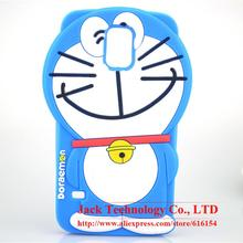 For Samsung Galaxy S5 i9600 Case Cute Japan 3D Cartoon Doraemon Phone Case Soft Silicone Rubber Cover Case