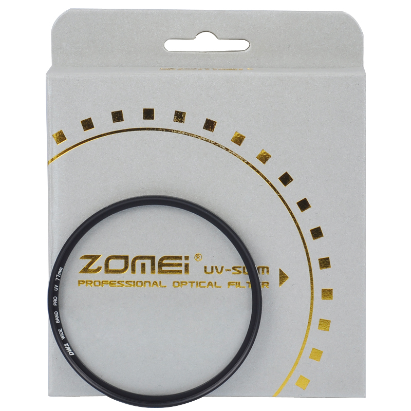 Costs-effective ZOMEI Digital camera lens UV 62mm Slim Frame Protector filter(China (Mainland))