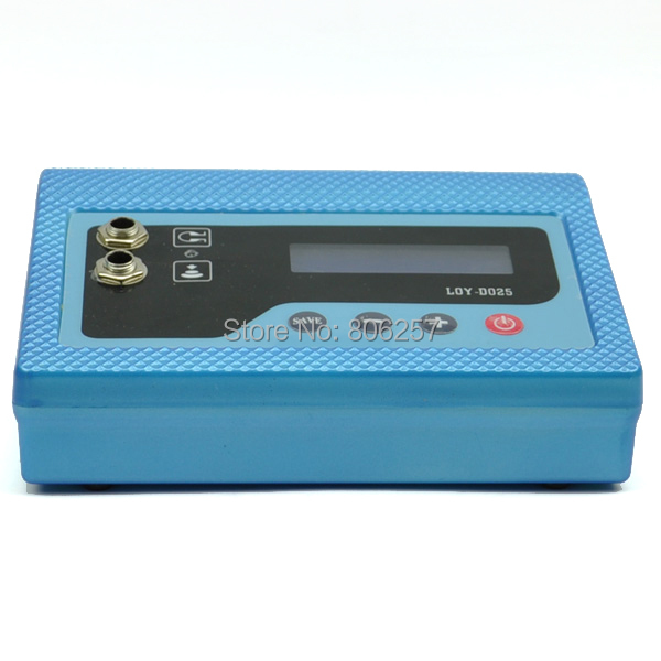 Digital Tattoo Power Supply tattoo Machine Blue Casting LCD Digital Tattoo Power Supply Machine US Plug(China (Mainland))