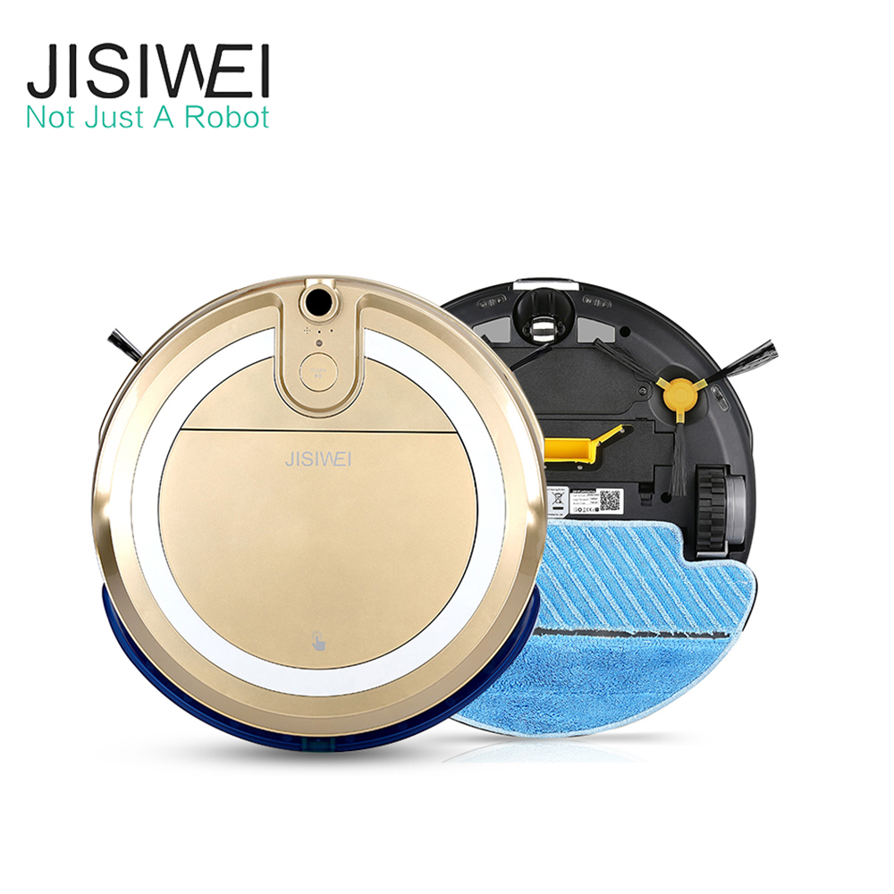 JISIWEI I3 Auto Robot Vacuum Cleaner House Cleaner Aspiradora Robot With Built-in HD Camera APP Remote Control Sweeping Robot(China (Mainland))