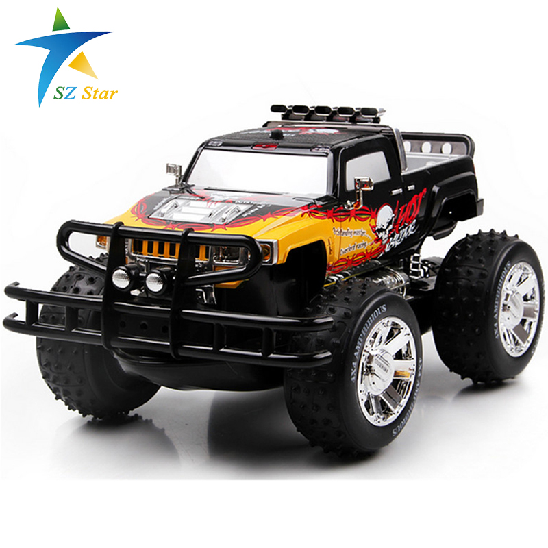 china remote control dune buggy huanqi rc cars electric-car-baby Amphibious Four-wheel drive hummers car with Brake lights Music(China (Mainland))