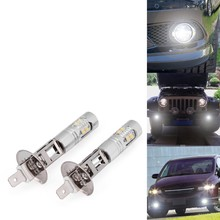 Buy Extremely Bright Max 50W CREE chips High Power H1 LED Bulbs DRL Fog Lights Driving Fog Light Bulb, Xenon White 6000K for $19.50 in AliExpress store