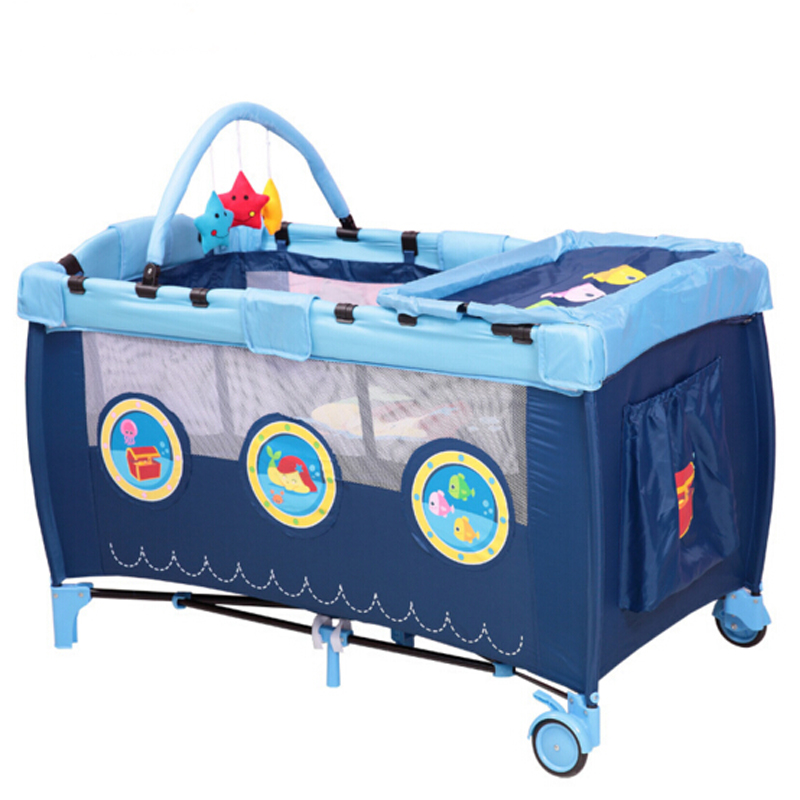 Compra cama de ni o port til online al por mayor de china - Cama plegable infantil ...