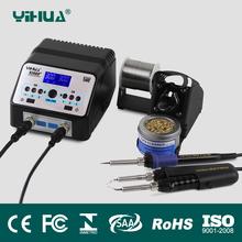 yihua 938BD+SMD Soldering Tweezer Repair Rework Station Electric heating pliers Constant temperature heating soldering station(China (Mainland))