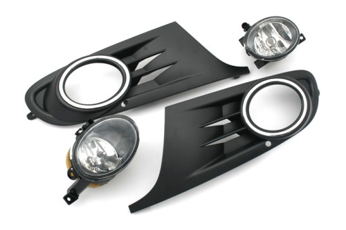 Free Shipping Brand New Front Fog Light Kit for Jetta Sport Wagon(China (Mainland))