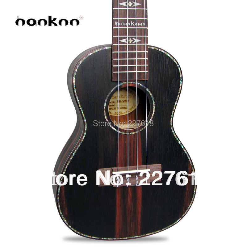 """2013 new style 23"""" Ebony 4 string ukulele Guitarra ukelele uke Child Hawaii mini handcraft guitar acoustic musical Instrument(China (Mainland))"""