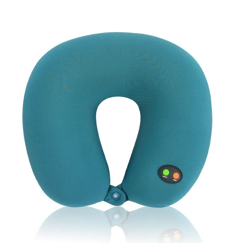 2015 Massage Pillow electric U-shaped massage pillow cervical vibration massage Massage neck pillows<br><br>Aliexpress