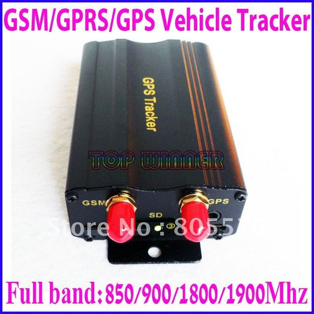 High quality - Vehicle/Car GPS tracker tk103A  Car Alarm Quadband cut off fuel Real-time tracking