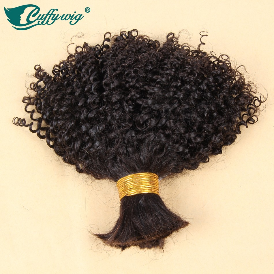 Top Quality Virgin Brazilian Curly Bulk Hair For Braiding 100% Unprocessed Human Bulk Hair Extensions Any Lenght Fast Shipping