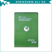 Nueva llegada Jiayu batería 3000 - 3100 mAh de copia de seguridad de ion de litio para Jiayu S3 reemplazo envío gratis(China (Mainland))