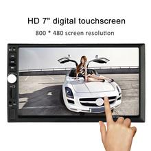 "7"" Universal 2 Din HD Car Radio MP5 Player Bluetooth Radio Entertainment Multimedia USB/TF In-Dash FM Aux Input(China (Mainland))"