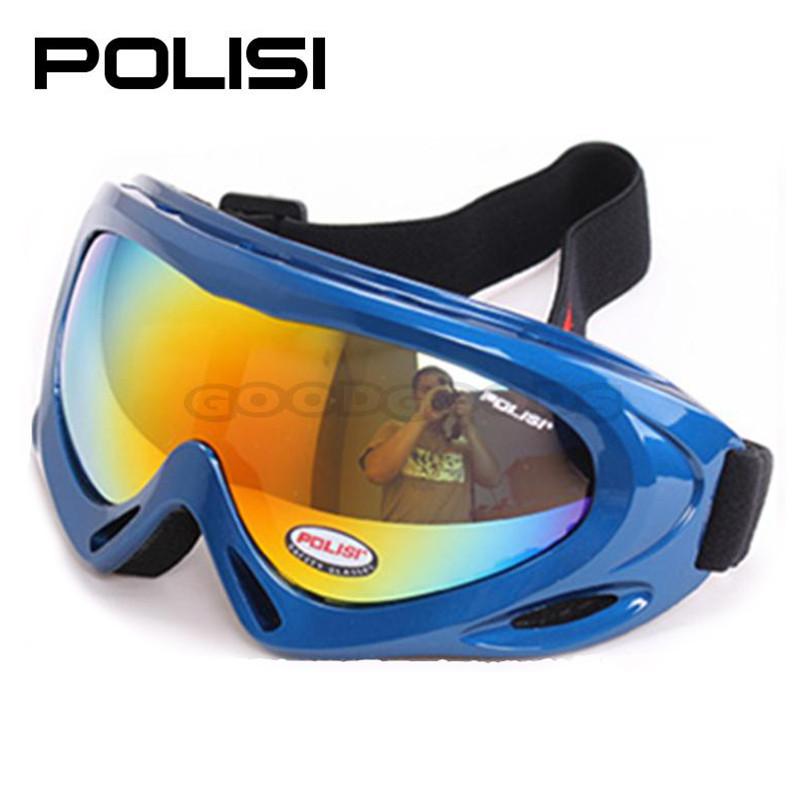 2015 POLISI  P-301-BL Children Ski Outdoor Motorcycle Eyewear goggles snowboard  Glasses Snowboard Skate Sled Goggles Glasses