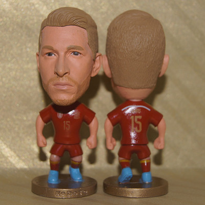 Hot! Football National Team Spain 15# RAMOS Toy Dolls Figure Soccer Fans Doll Souvenir(China (Mainland))