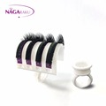 NAGARAKU U shape Ring with Adhesive Eyelash Pallet Holder U band lash holder professional for grafting