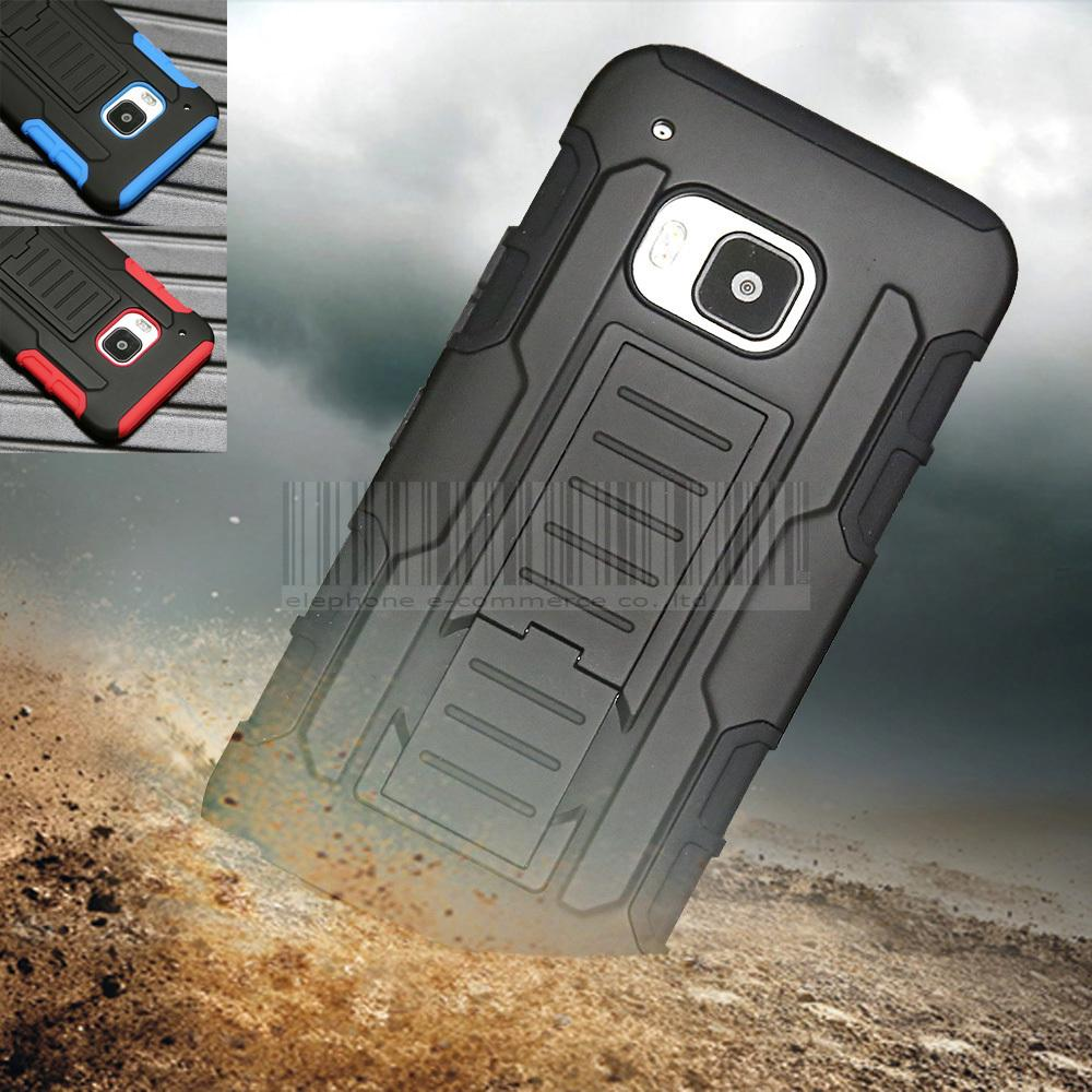 3in1 Protective Armor Impact Hard Case Cover+Holster+FILM + Pen Belt Clip KickStand For HTC One M9 2015(China (Mainland))