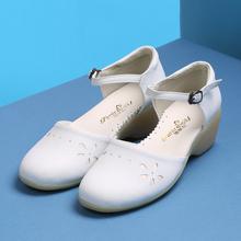 2018 новая обувь для медсестры медицинские Обувь, Сандалии Белый красоты склон Для женщин летние женские Врач больницы Повседневная обувь ме...(China)
