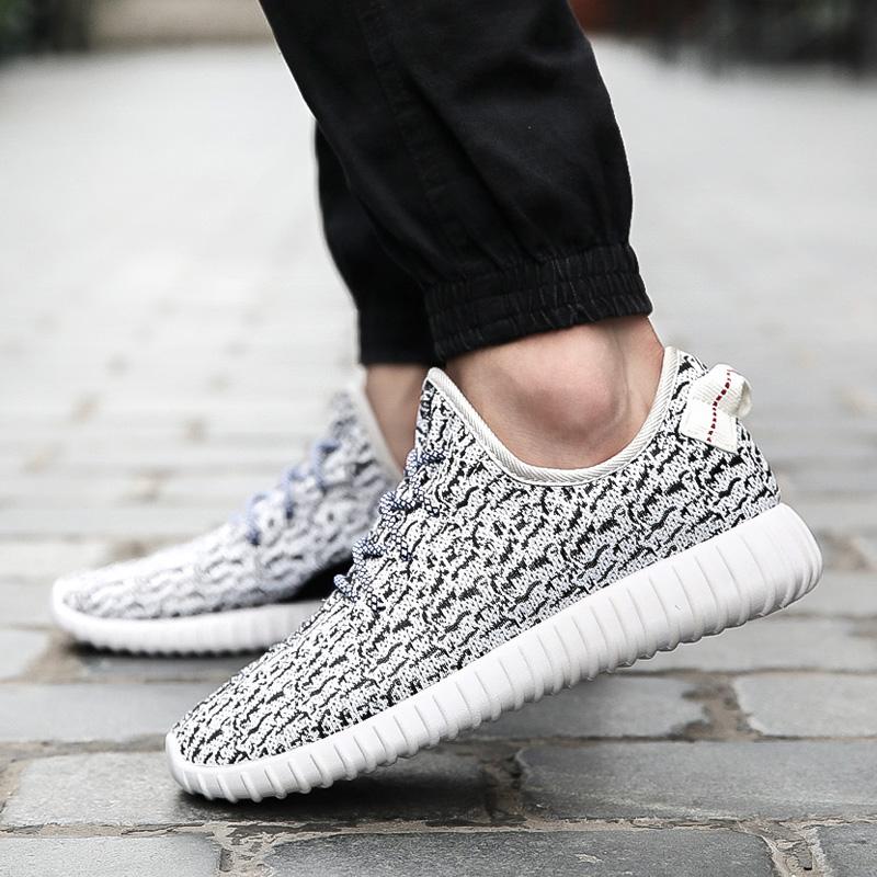 Yeni 2016 Yeni Rahat Nefes Kadın Erkek Casual Gri/Beyaz/Siyah Ayakkabı, Marka Kalite Erkekler Ayakkabı Ücretsiz rahat Ayakkabılar Hiçbir Logo