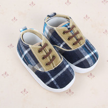 Anti slip Soft Sole Sneakers 3 18M Baby Boy Girls Crib Shoes Faux PU Leather Cotton