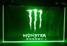 b166 Energy Drink beer bar pub club 3d signs LED Neon Light Sign home decor crafts(China (Mainland))