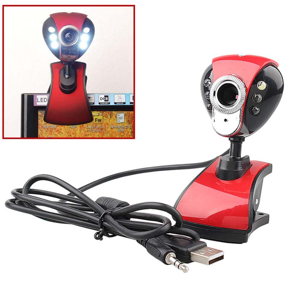 USB 50 Megapixel Digital LED HD Webcam with Microphone for PC Laptop A(China (Mainland))
