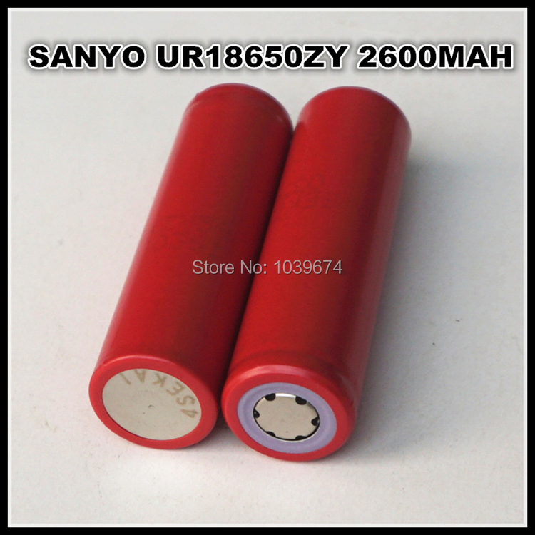 SANYO UR 18650 2600mAh 3.7V Lithium ion Rechargeable Battery Cell(China (Mainland))