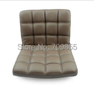 Swivel Chair Leather 360 Rotating Living Room Furniture Office Desk Chair Japanese Floor Seating Legless Tatami Zaisu Seat(China (Mainland))
