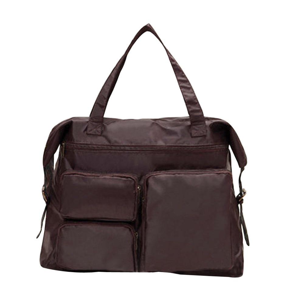 Мода мама сумка подгузник сумки почтальона плеча мумия уход