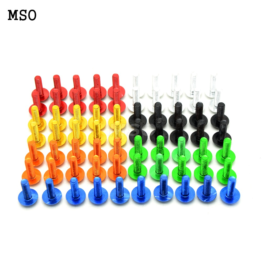 10 Pcs CNC Motorcycle Fairing Screws Bolts Kit Body For Suzuki GSXR 600 750 GSXR600 GSXR750 04-05 2004 2005(China (Mainland))