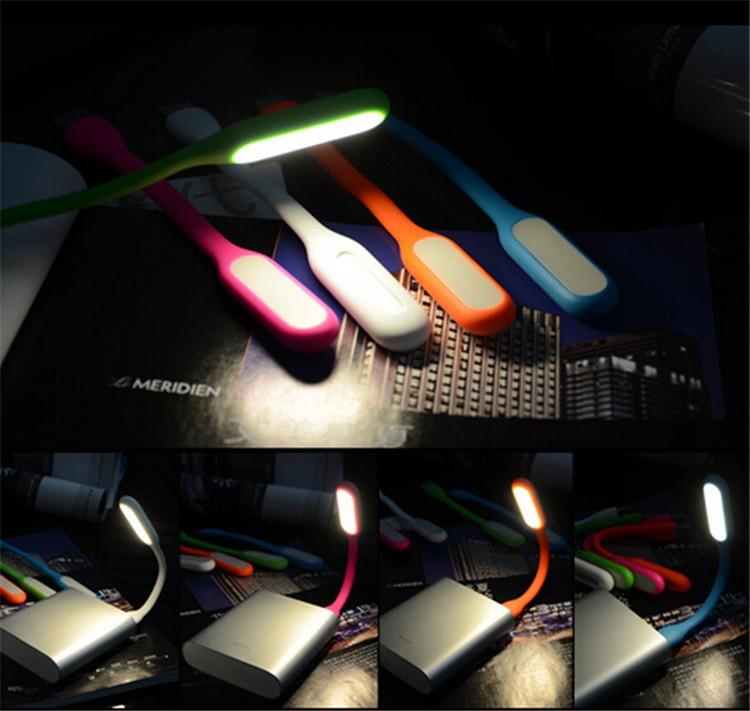 2015 New Original USB Led Book Lights For Reading Lamp Candy Color Mini Novelty Tablet Led Kindle Ebook Reader Night Lights