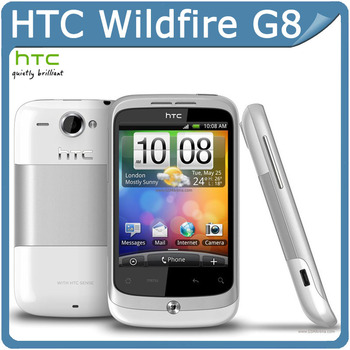 G8 Original HTC Wildfire Google G8 A3333 Android GPS 5MP Camera Smrtphone Unlocked Cell Phone Free shipping