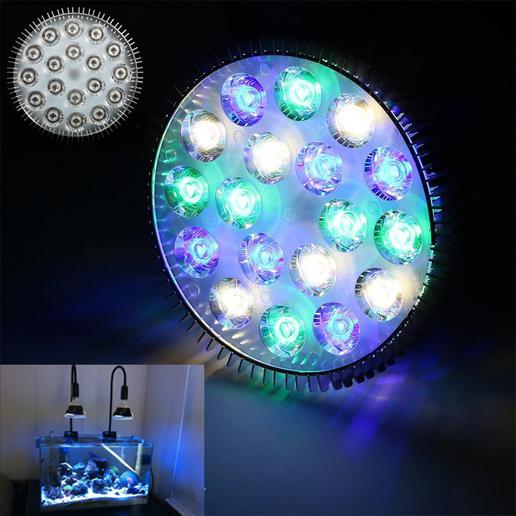 LED Aquarium Light white blue green Aquariumlampe