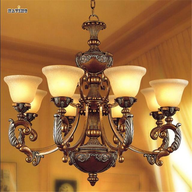 Aliexpress.com : acquista lampadario in ferro moderno per camera ...