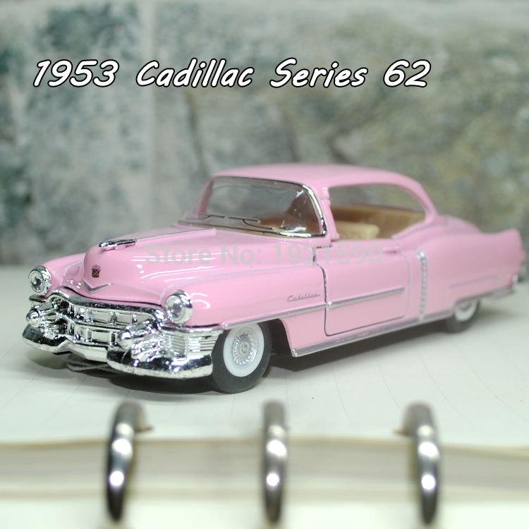 brand new kingsmart 143 scale vintage usa 1953 cadillac serise 62 diecast metal pull
