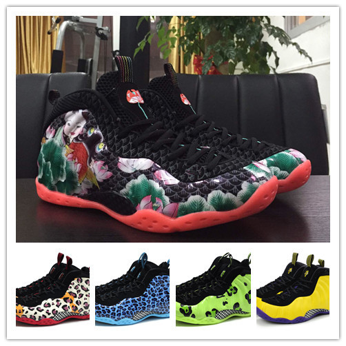 2015 New Arrival 10 Colors Airlis Foamposite One Top Quality Asteroid Penny Tim Hardaway Mens Basketball Shoes Size us 8-13(China (Mainland))