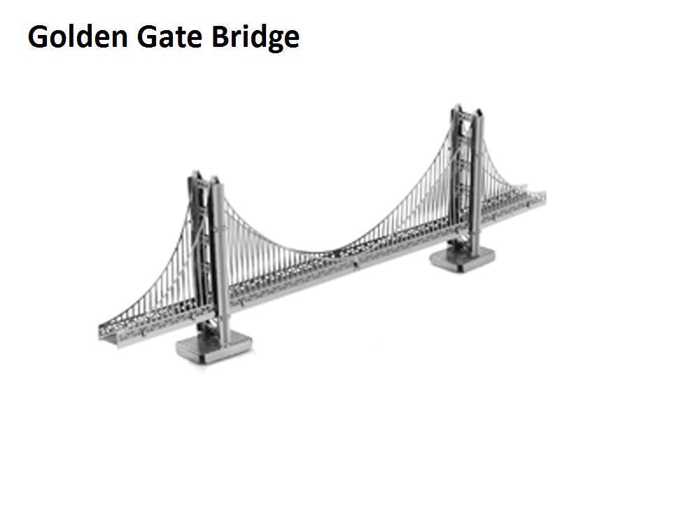 how to build a golden gate bridge model