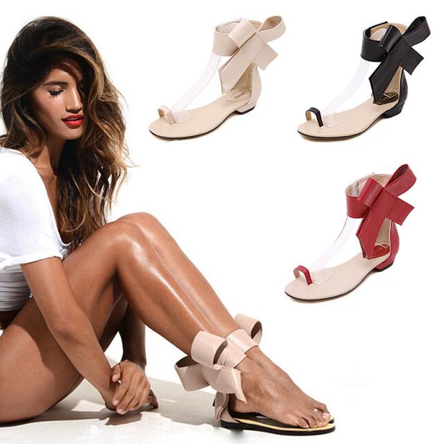 Женщины сандалии 2016 женщина летние стиль sandalias большой боути новый гладиатор ...