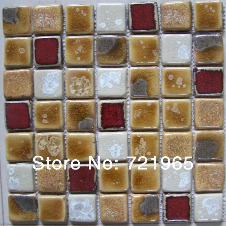 Ceramic mosaic tiles craft